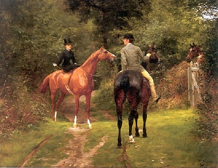 93031749_An_Afternoon_Ride_With_Lady_Riding_Sidesaddle_1882