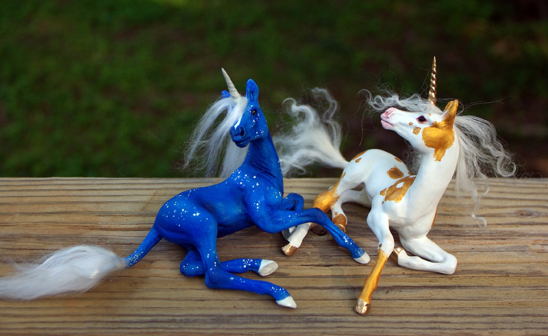 Unicorn_foal_mold__Day_Night_2_by_Indigo_Ocean