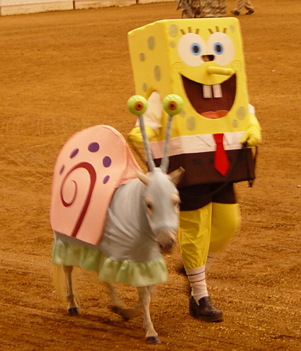 Costume-UnicornerFarm-SpongebobGary
