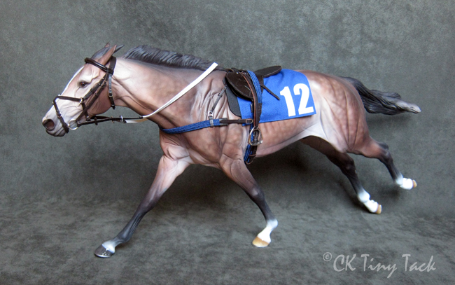 Racing saddle set