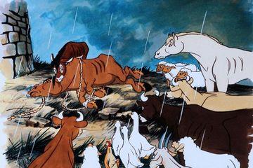 Мультфильм Скотный Двор 1954