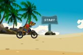 Скуби Ду на велосипеде на пляже / Scooby Doo Beach BMX